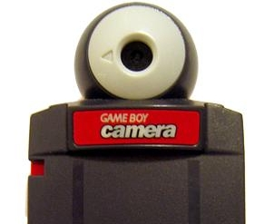 red Game Boy Camera